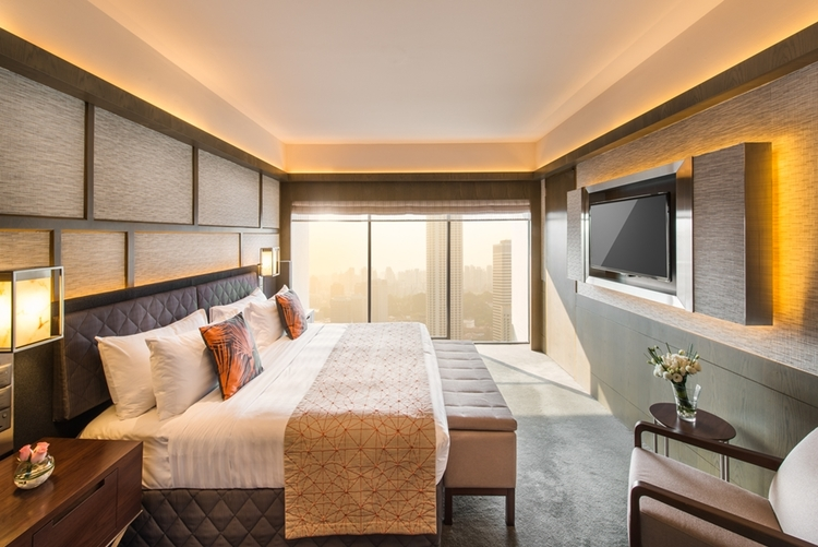 Skyline Suite | Photo Credit: Pan Pacific Singapore