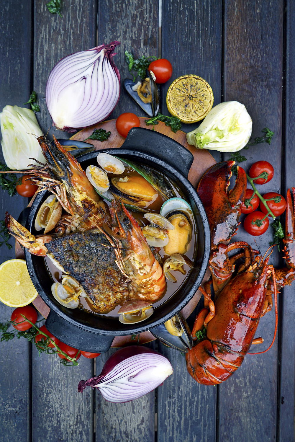 Seafood Bouillabaisse (S$68++) | Photo Credit: The Pelican Seafood Bar & Grill