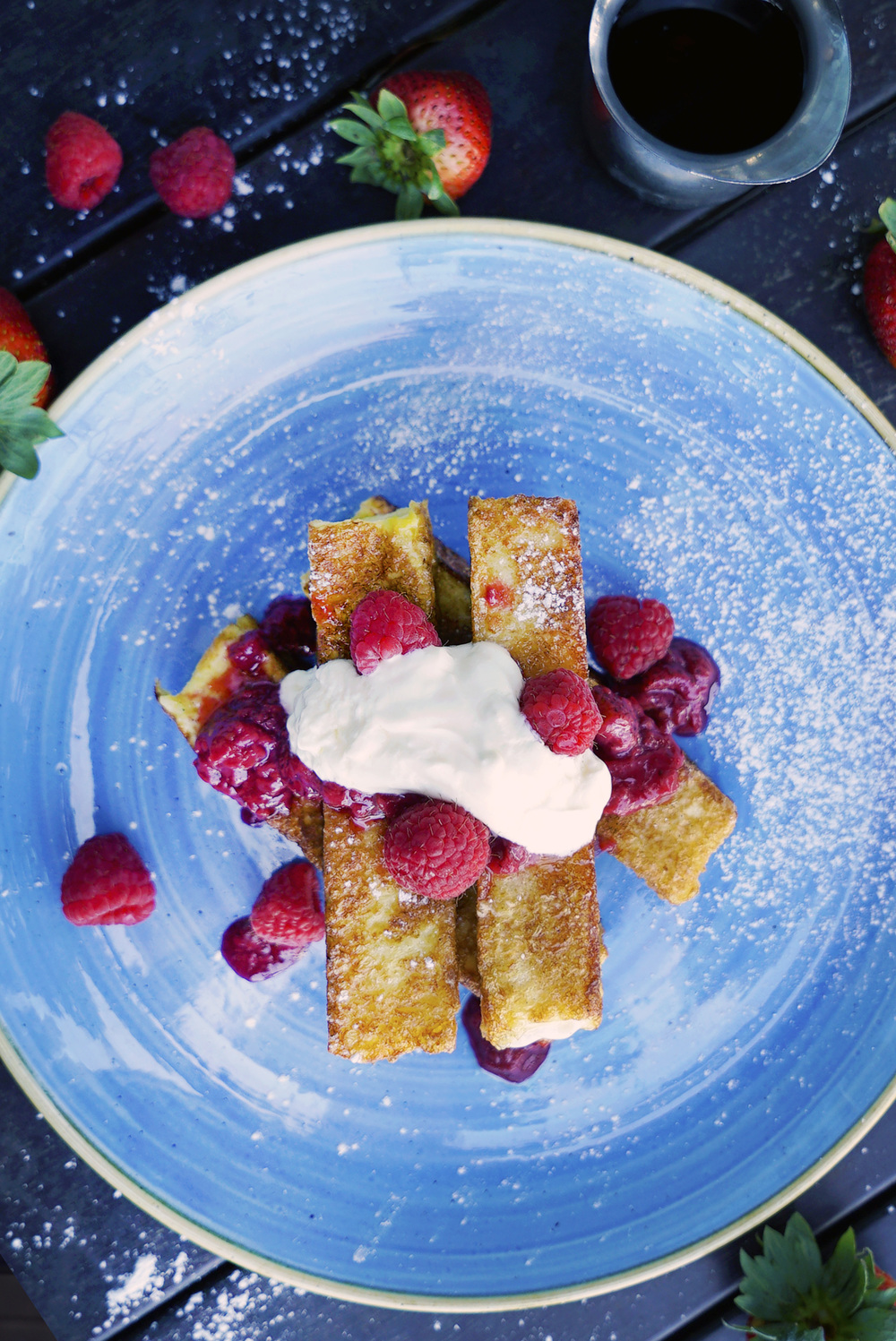 Berry & Creme French Toast