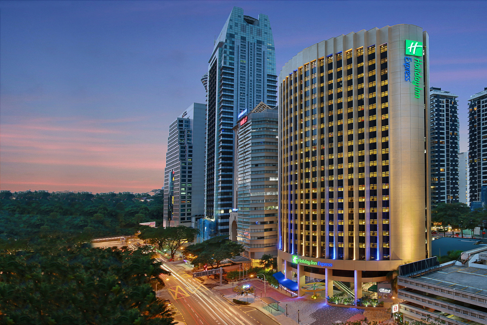 Hotel Facade | Photo Credit: Holiday Inn Express Kuala Lumpur City Centre