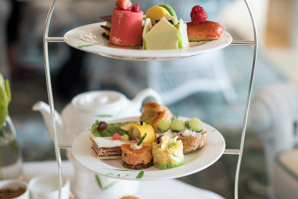 Western Afternoon Tea Set (THB 1,450++ per Person) Author's Lounge - Mandarin Oriental, Bangkok