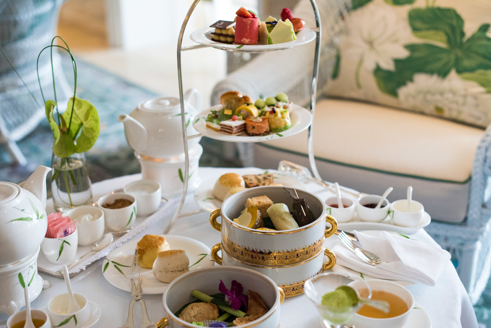 Afternoon Tea Sets (THB 1,450++ per Person) Author's Lounge - Mandarin Oriental, Bangkok
