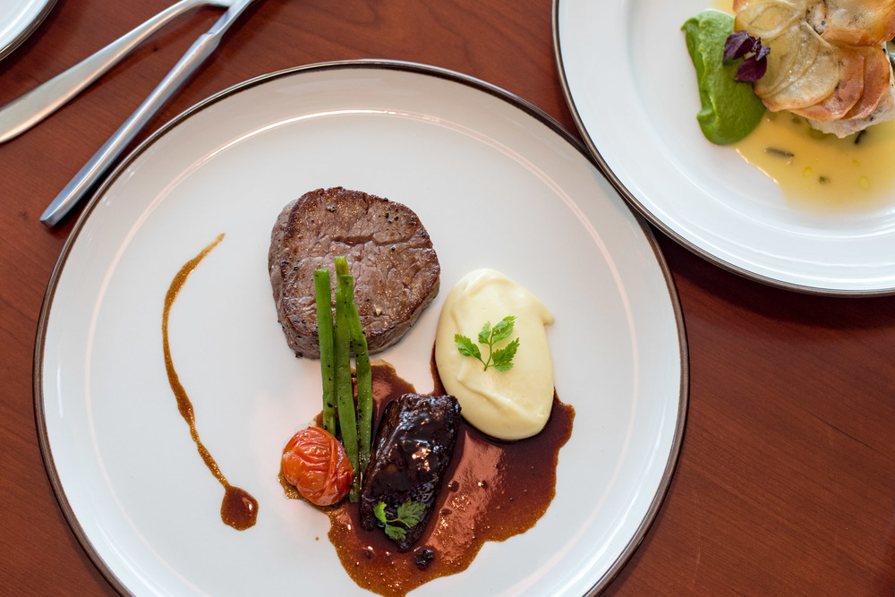 Duet of Aberdeen Angus Beef (S$56++)  UsQuBa - Scottish Restaurant & Bar
