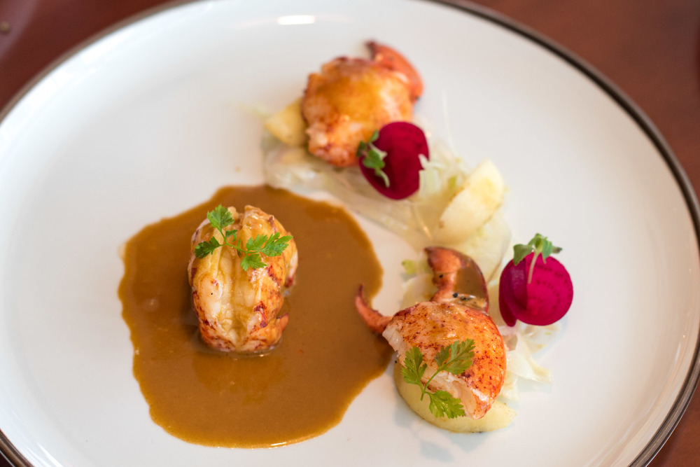 Butter Poached Lobster (S$58++)  UsQuBa - Scottish Restaurant & Bar