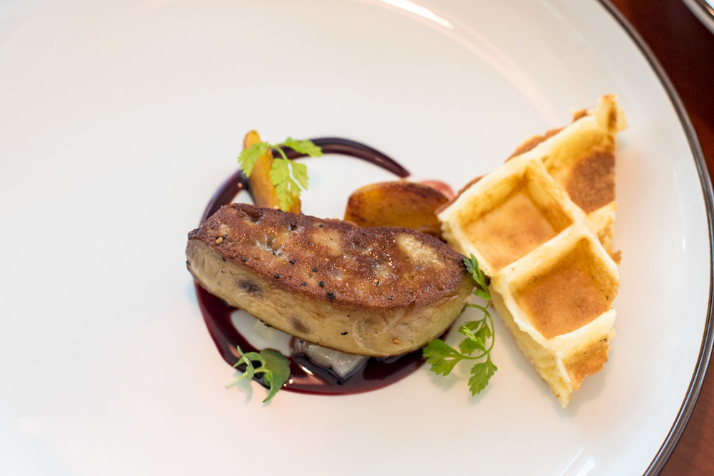 Seared Foie Gras (S$21++) UsQuBa - Scottish Restaurant & Bar