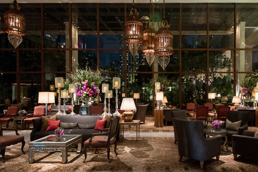 Hotel Lobby Mandarin Oriental, Bangkok