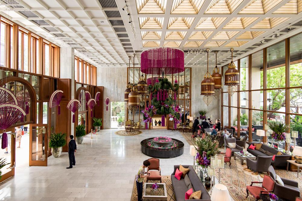 Hotel Lobby (Day)  Mandarin Oriental, Bangkok