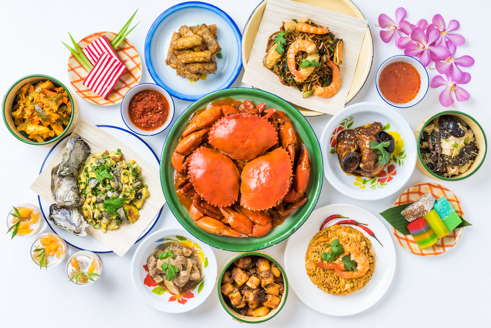Local Delights and Peranakan Highlights at Oscar's | Photo Credit: Conrad Centennial Singapore