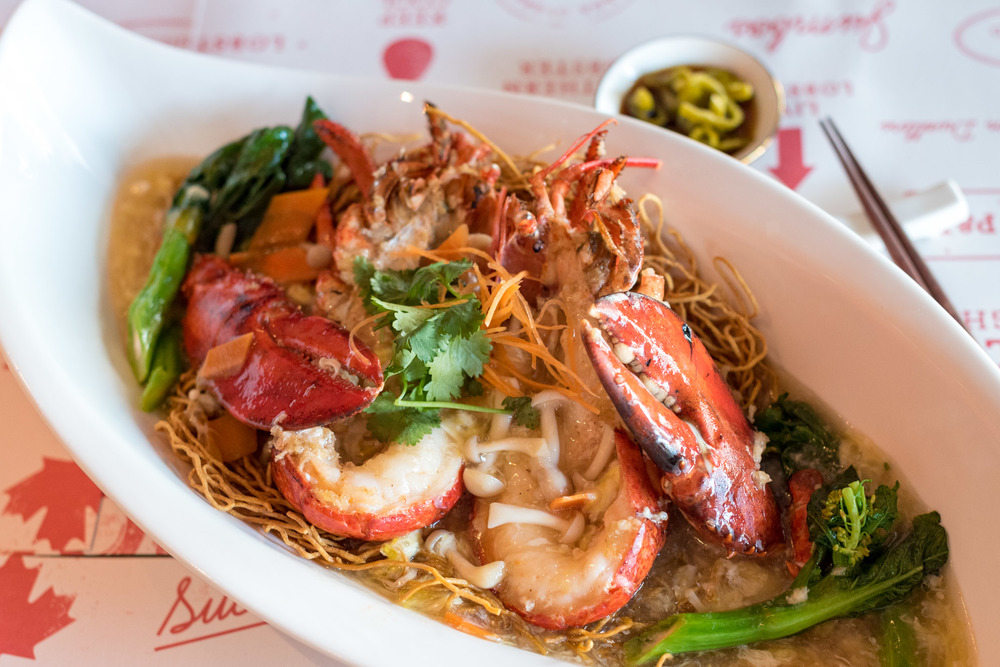 Lobster Noodles (S$58++)  Pince and Pints