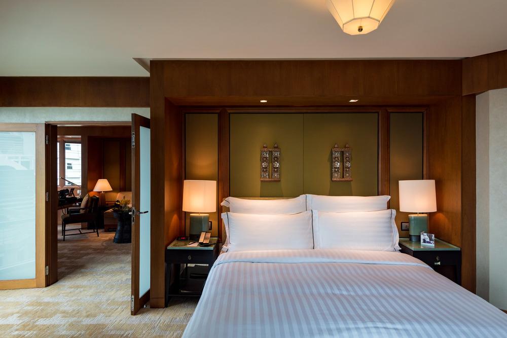 Bedroom Executive Suite - Conrad Bangkok