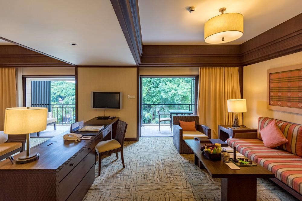 Living Room - Rasa Premier Room Rasa Wing -Shangri-La's Rasa Sayang Resort & Spa, Penang