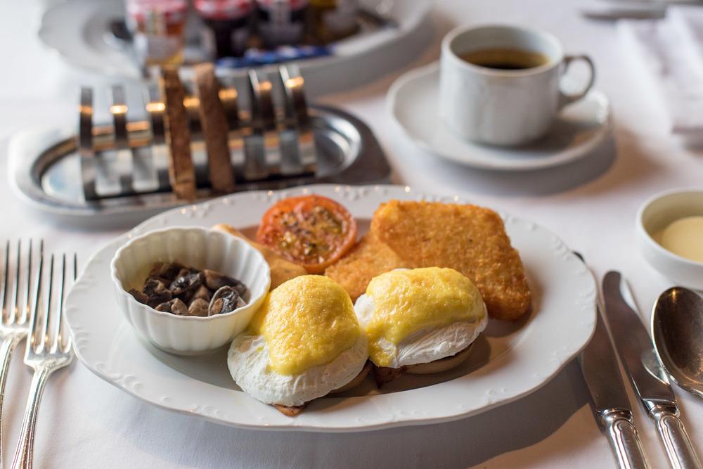 Eggs Benedict - Breakfast Feringgi Grill -Shangri-La's Rasa Sayang Resort & Spa, Penang