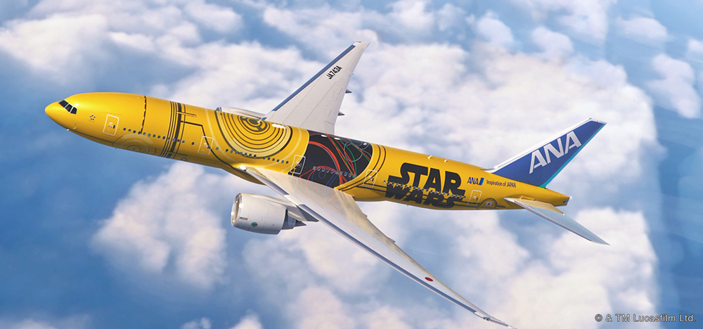 C-3PO™ ANA JET | Photo Credit: ANA