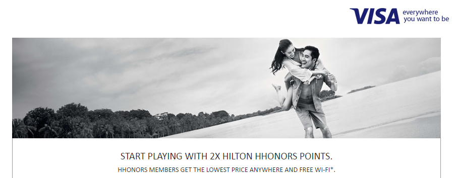 Get Double Hilton HHonors Points with Visa | Photo Credit: Hilton HHonors
