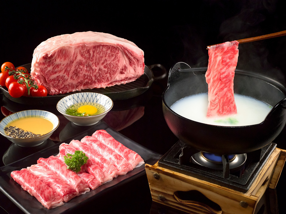 Omi Wagyu Beef Shabu-Shabu | Photo Credit: Pan Pacific Orchard