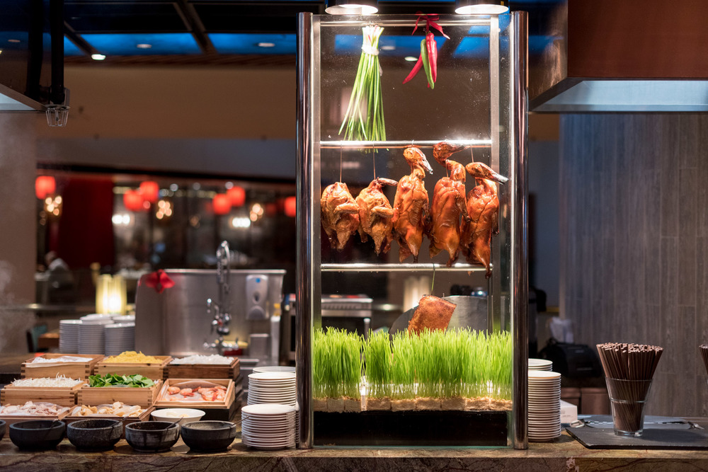 Selection of Roasted Delights  Surf & Turf Dinner Buffet (Tuesdays only) - Pan Pacific Singapore
