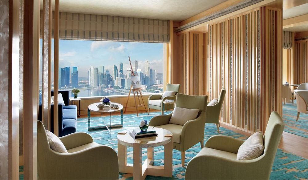 Drawing Room |  Photo Credit: The Ritz-Carlton, Millenia Singapore
