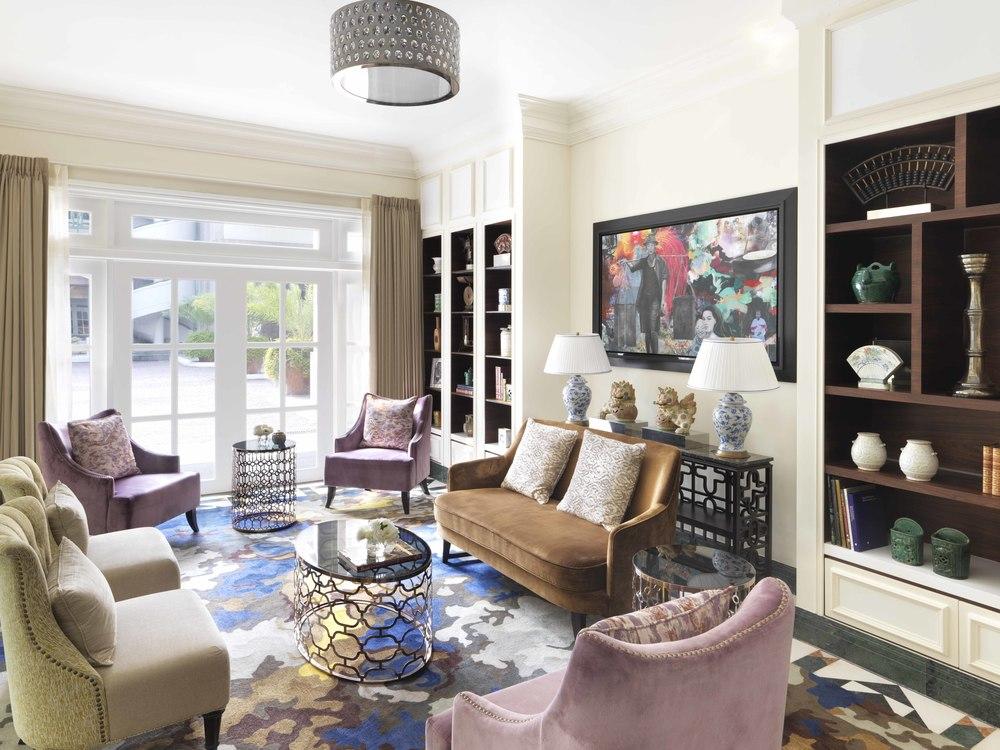 Concierge Lounge | Photo Credit: InterContinental Singapore