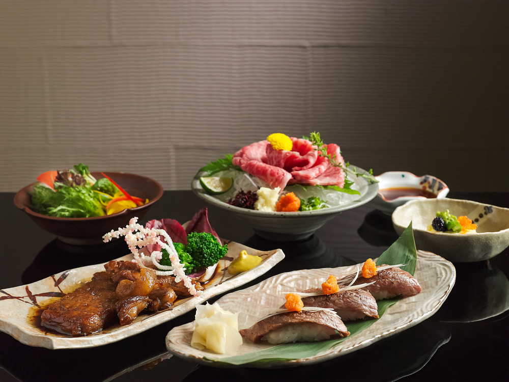 Wagyu Set Menu | Photo Credit: Pan Pacific Singapore