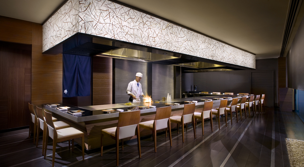 Keyaki Teppanyaki | Photo Credit: Pan Pacific Singapore