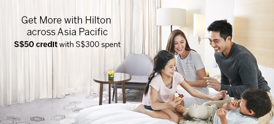 S$50 Statement Credit with American Express - Hilton