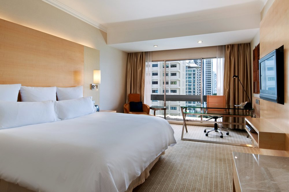 Bedroom | Photo Credit: Hilton Singapore