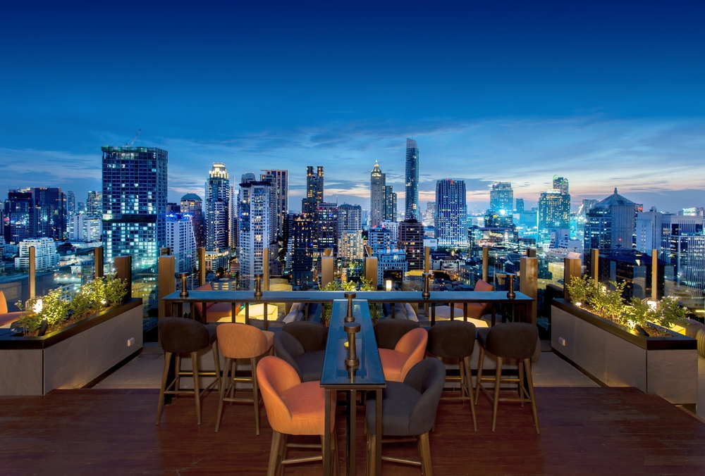 CHAR Rooftop Bar | Photo Credit: Hotel Indigo Bangkok Wireless Road