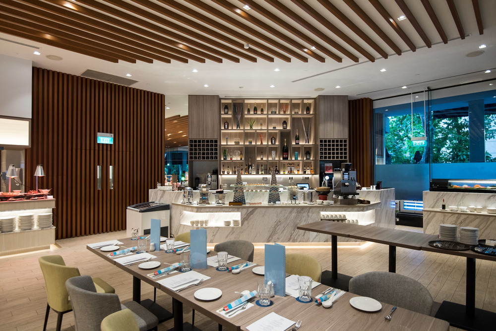 Interiors - Four Points Eatery Four Points by Sheraton Singapore, Riverview
