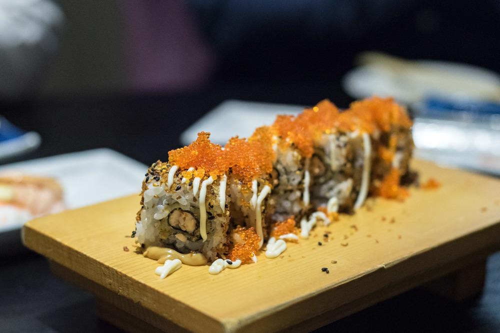 Hokkaido Maki Roll    Hokkaido Sushi - M Hotel Singapore