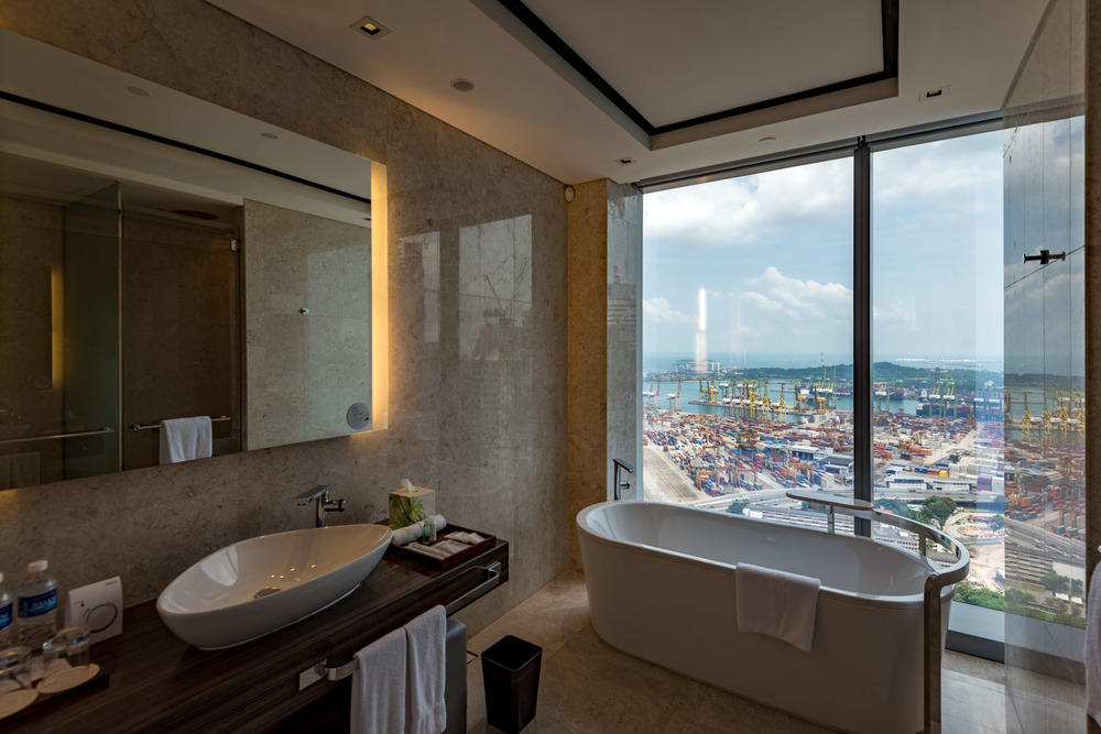 Bathroom - Premier Room     The Westin Singapore