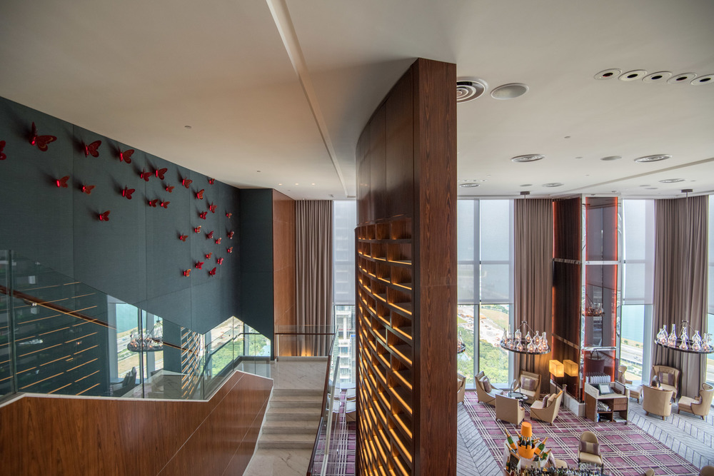 Hotel Lobby The Westin Singapore