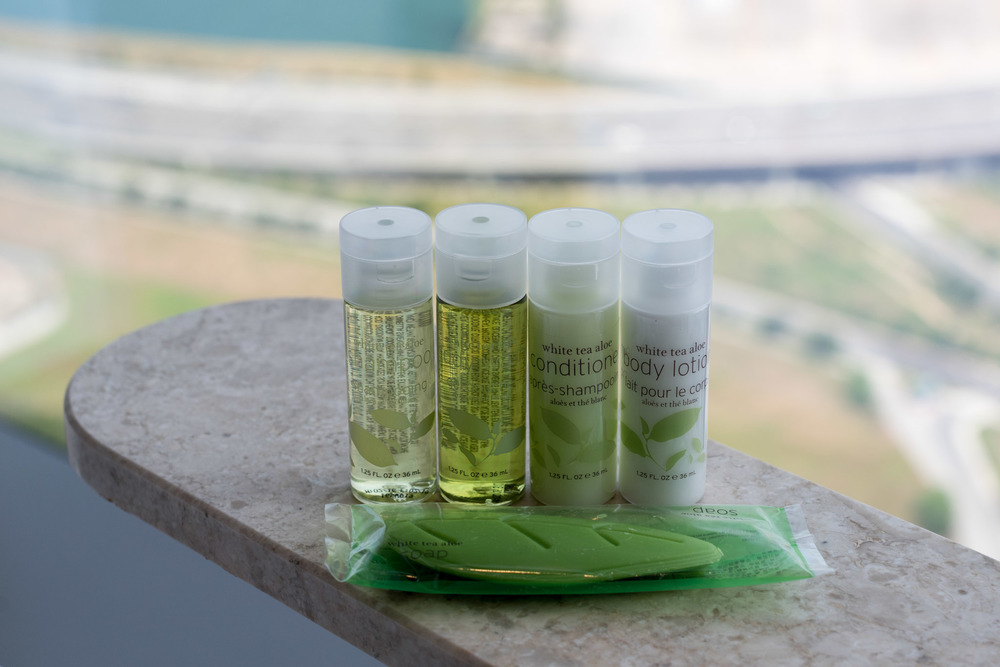 Fragrant White Tea Bath Amenities - Premier Room     The Westin Singapore