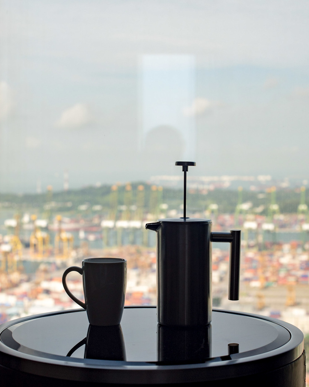 French Press Coffee - Premier Room     The Westin Singapore
