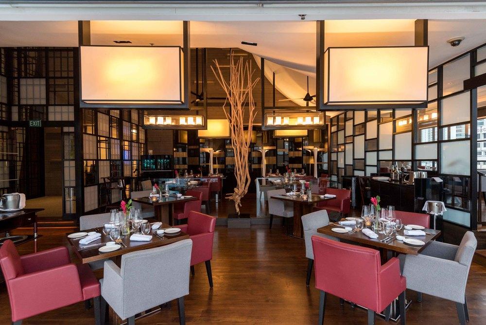 Restaurant Interiors  il Cielo - Hilton Singapore