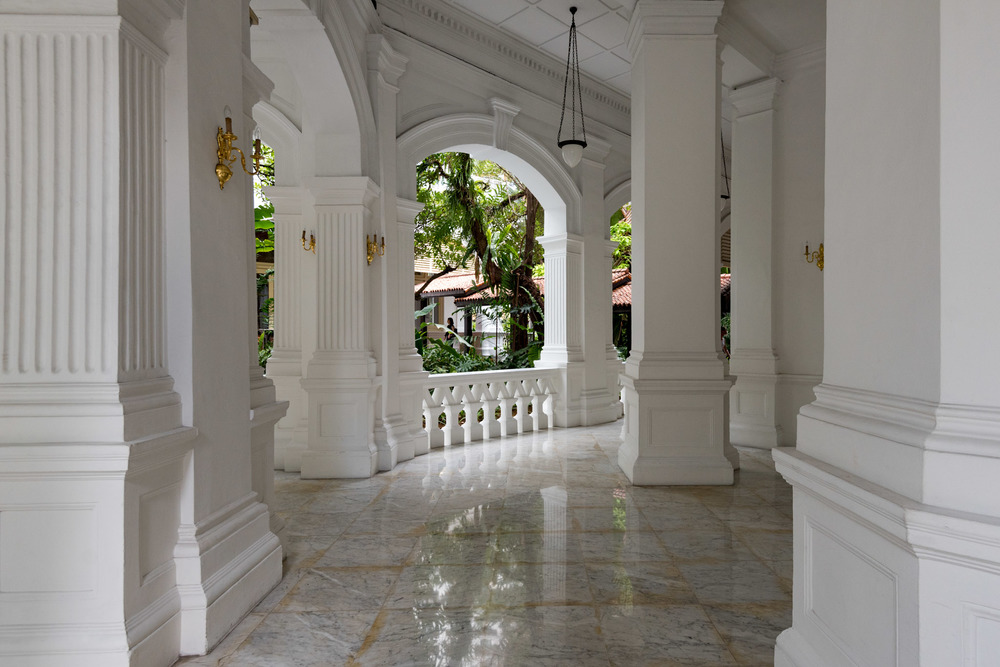 Walkway    Raffles Hotel Singapore