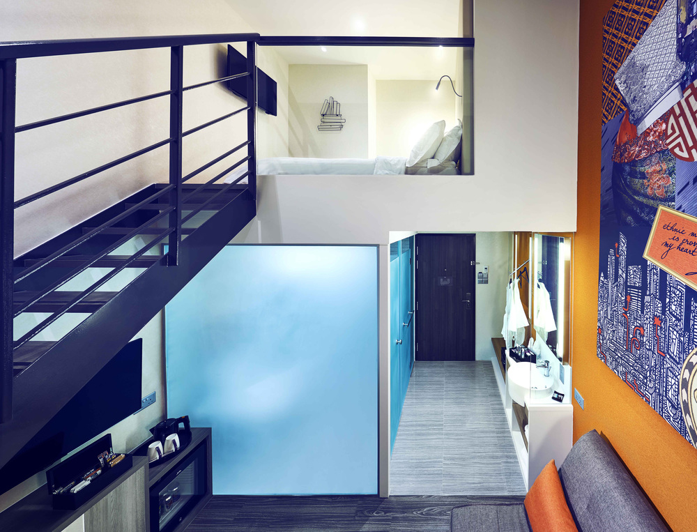 Loft Room |   Photo Credit: Mercure Singapore Bugis