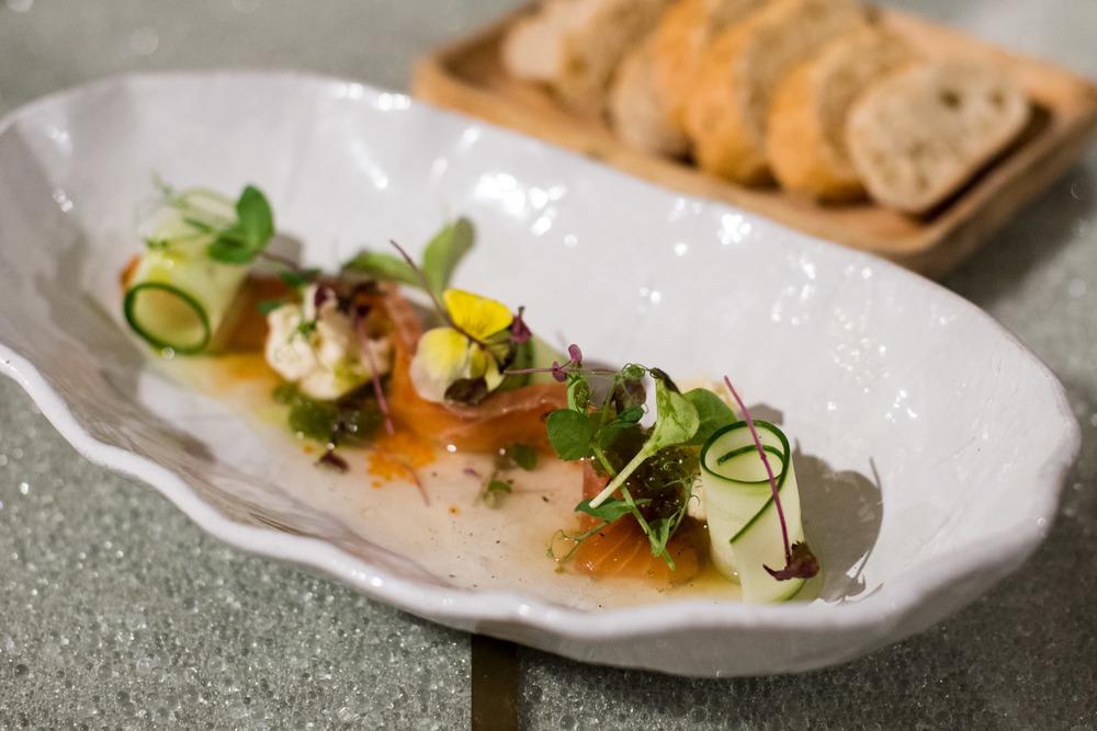 Cured Salmon - Xperience Restaurant SO Sofitel Singapore