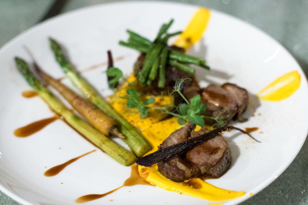 Lamb Confit - Xperience Restaurant SO Sofitel Singapore