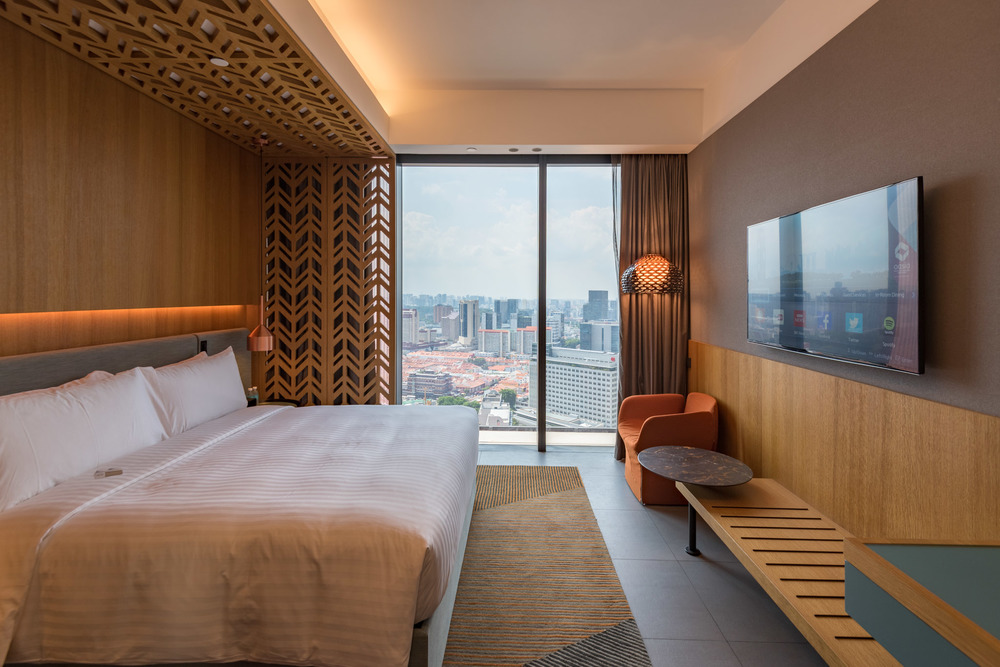 Bedroom - Club Room  Oasia Hotel Downtown Singapore