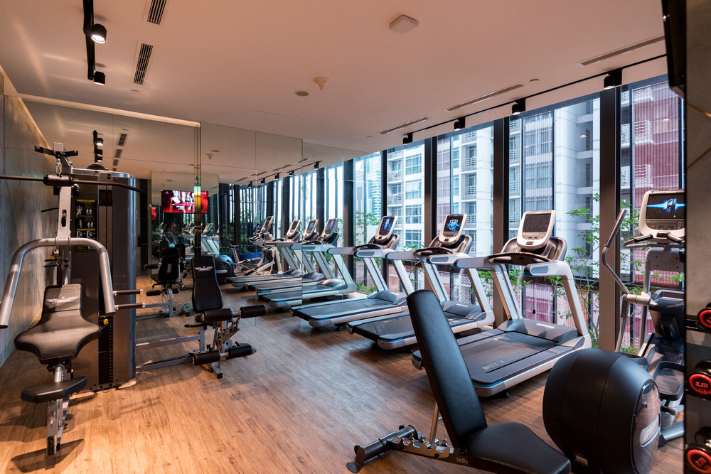 24-hour Gym     Oasia Hotel Downtown Singapore