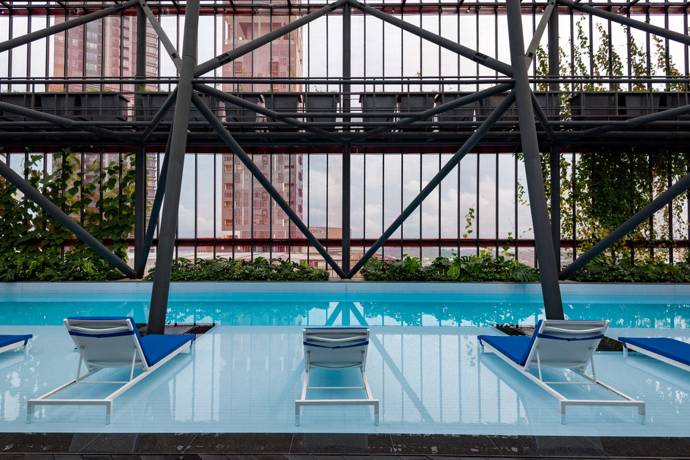 Rooftop Pool     Oasia Hotel Downtown Singapore