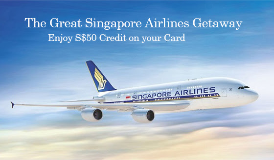 The Great Singapore Airlines Getaway | Photo Credit: Singapore Airlines