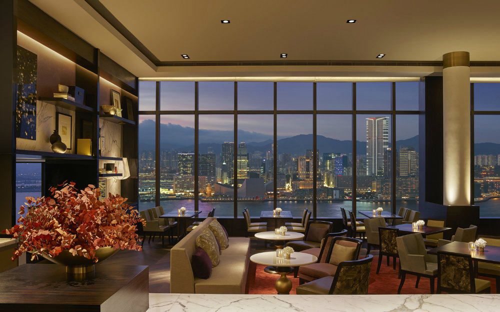 Grand Club Lounge | Photo Credit: Grand Hyatt Hong Kong