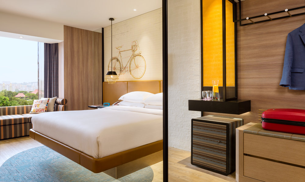 Superior Room | Photo Credit: Hotel Jen Tanglin Singapore
