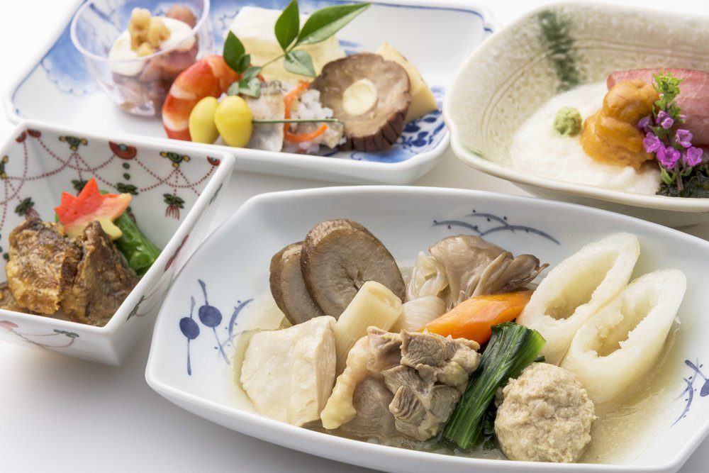 Specialties from Akita Prefecture | Photo Credit: ANA