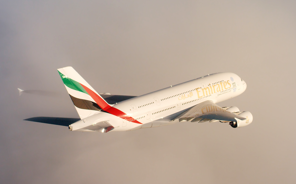 A380 Service between Christchurch and Dubai | Photo Credit: Emirates