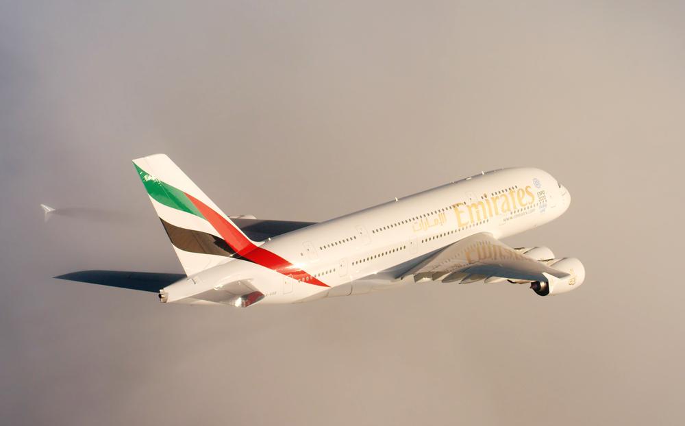 A380 Service between Christchurch and Dubai | Photo Credit: Emirates