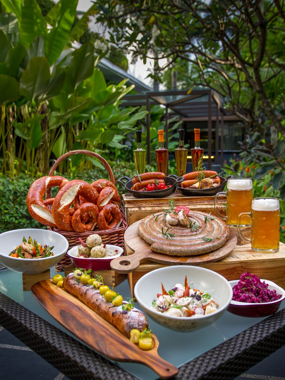Oktoberfest (2016) at Melt Cafe | Photo Credit: Mandarin Oriental, Singapore