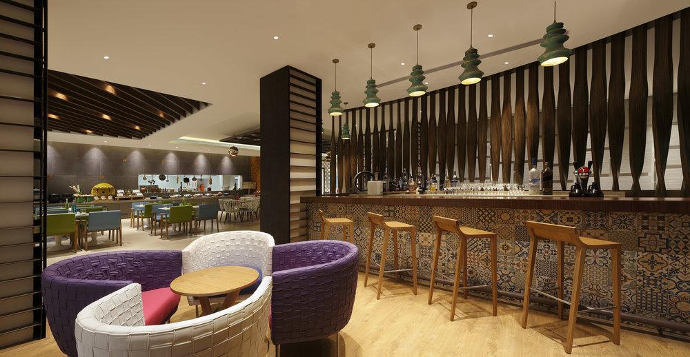 Bar | Photo Credit: ibis Styles Goa Calangute