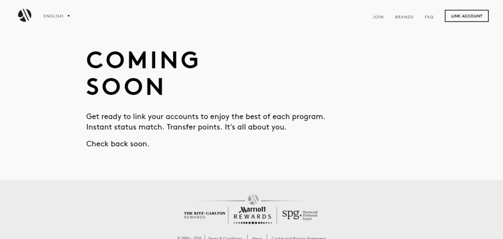 Linking Marriott Rewards and SPG Accounts | Photo Credit: Marriott